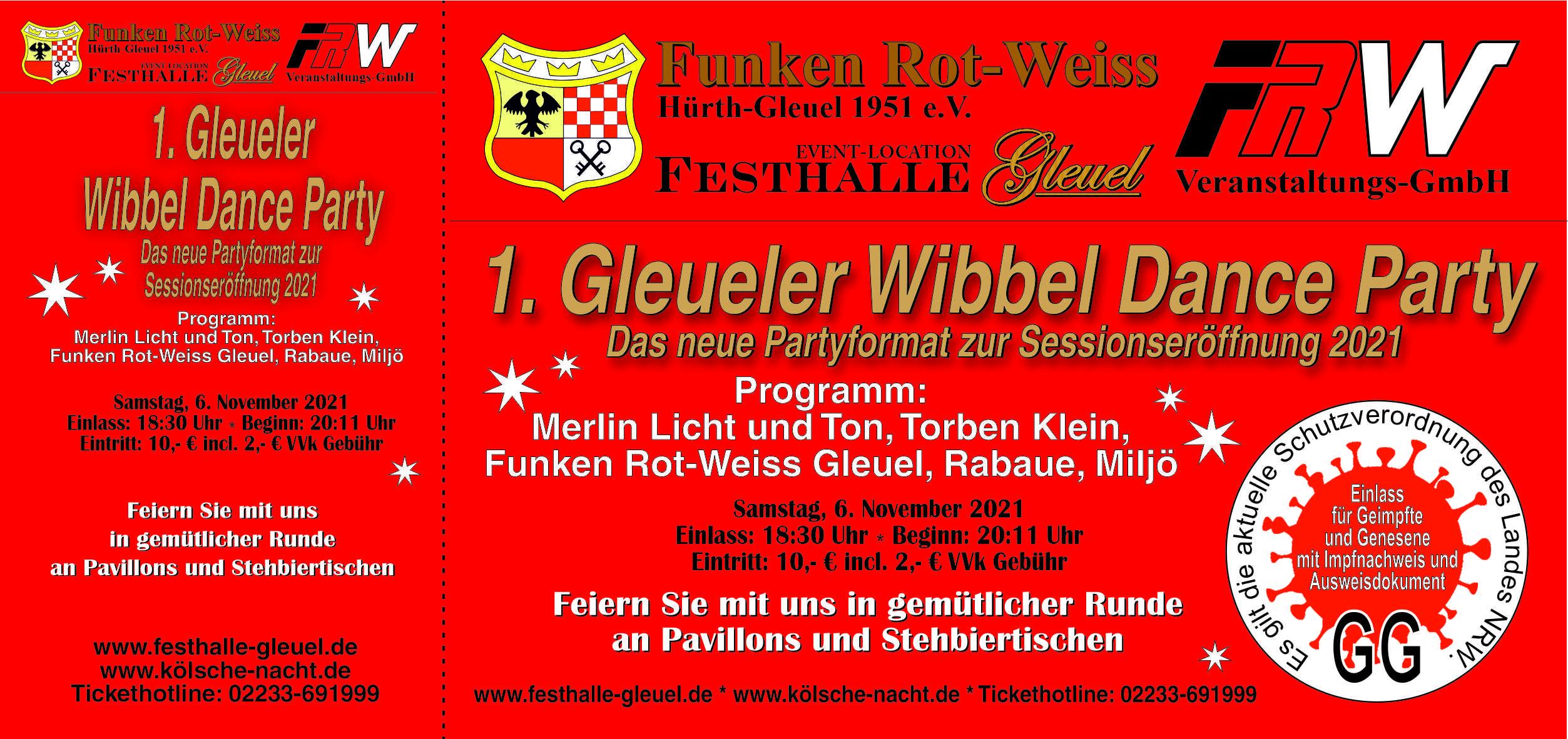 1. Gleueler Wibbel Dance Party